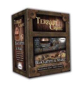 Mantic Entertainment TerrainCrate: Blacksmith & Stable
