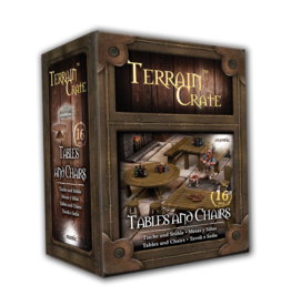 Mantic Entertainment TerrainCrate: Tables & Chairs