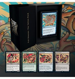 WOTC MTG MTG Secret Lair Full Sleeves: The Tattoo Pack