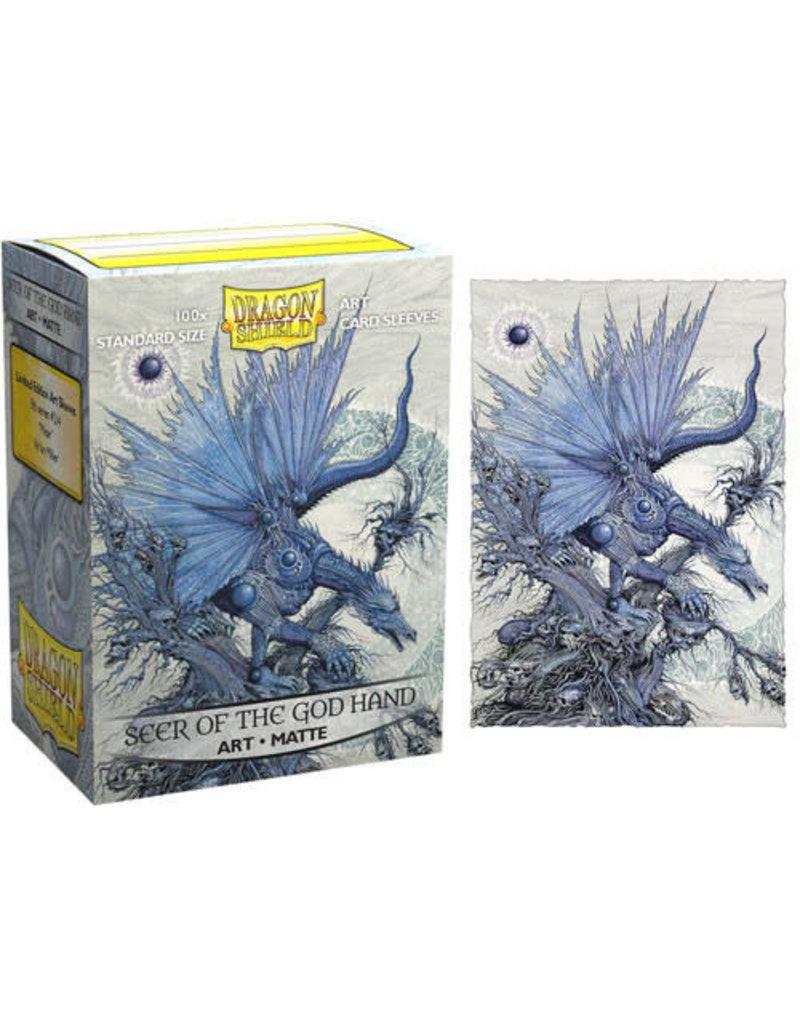 Arcane Tinmen Dragon Shields Matte Art Sleeves: Word of the God Hand