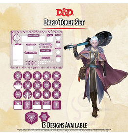 GaleForce Nine D&D Bard Token Set