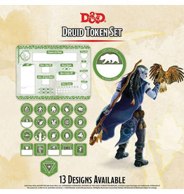 GaleForce Nine D&D Druid Token Set