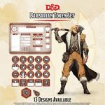 GaleForce Nine D&D Barbarian Token Set