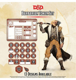GaleForce Nine D&D Barbarian Token Set