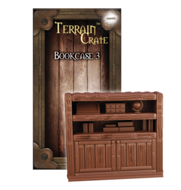Mantic Entertainment TerrainCrate: Bookcase 3