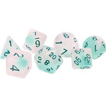 Sirius Dice RPG Dice Set (7): Frosted Glowworm