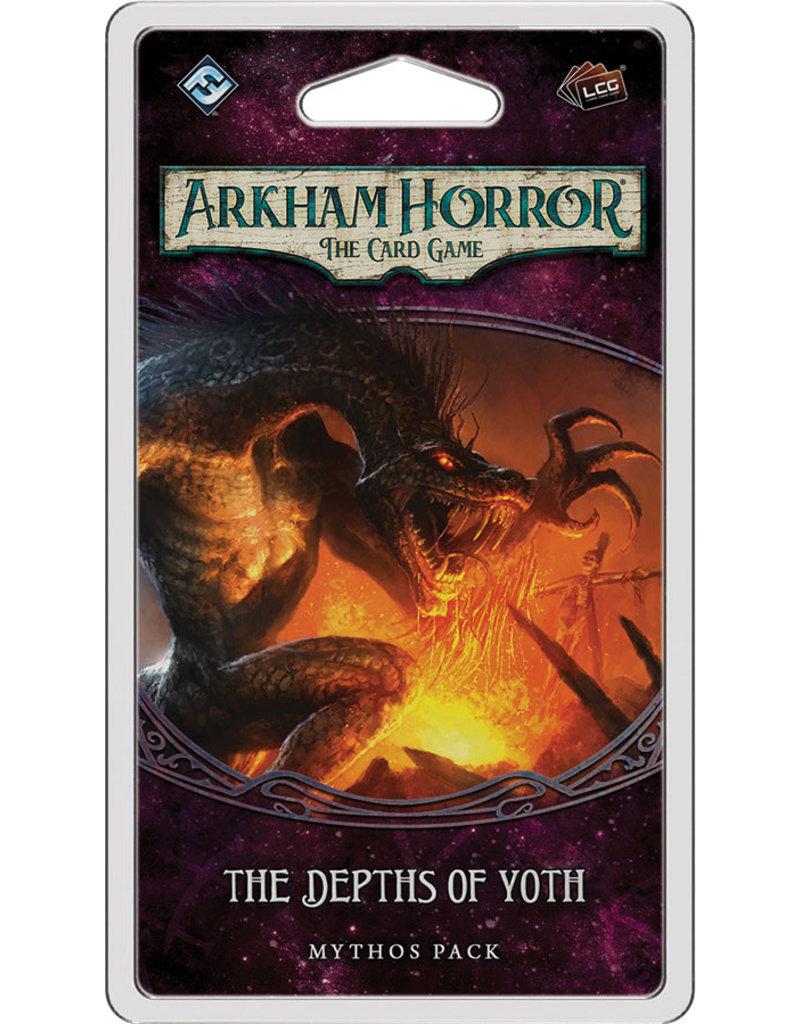 Fantasy Flight Games Arkham Horror The Card Game: The Depths of Yoth  Mythos Pack
