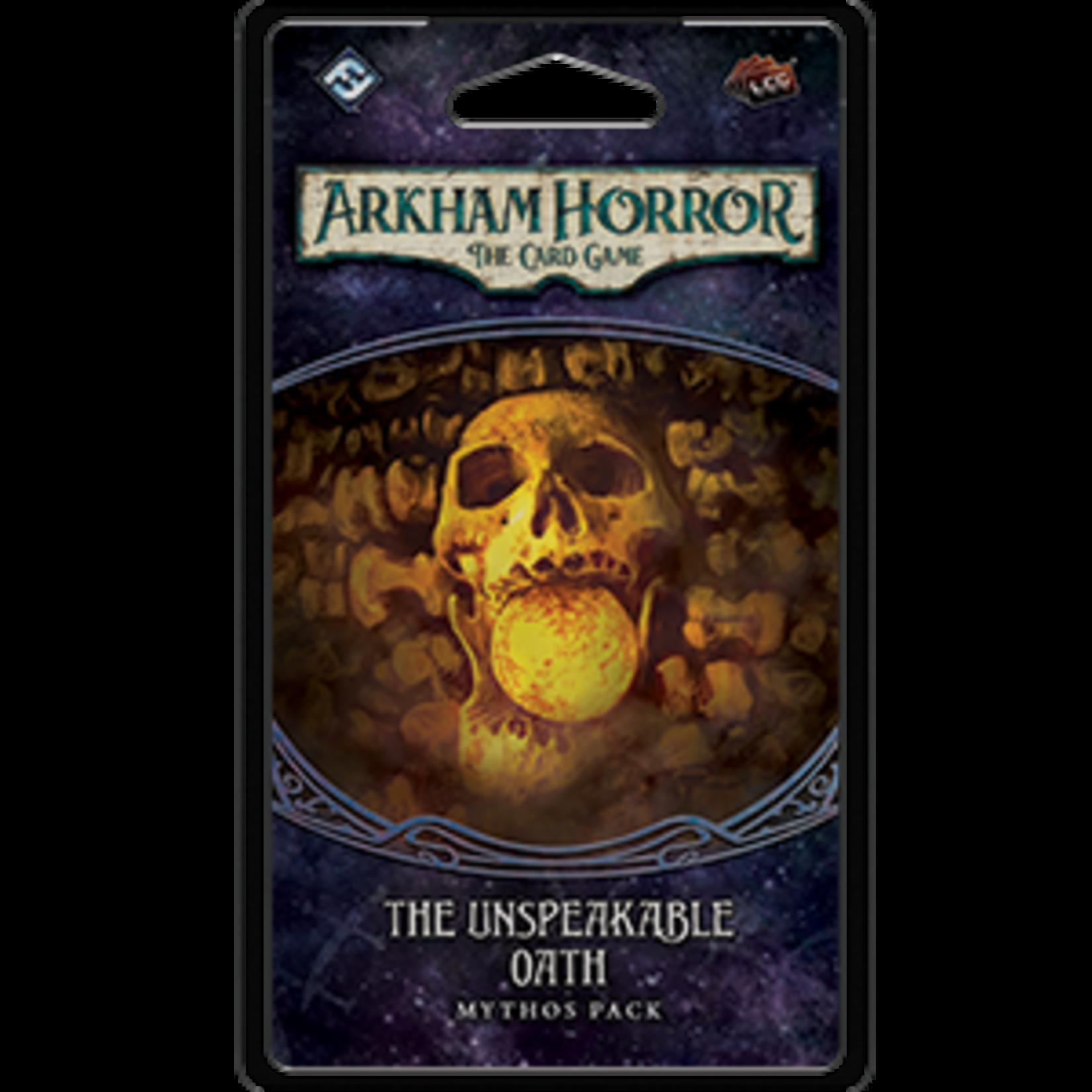 Fantasy Flight Games Arkham Horror The Card Game: Unspeakable Oath
