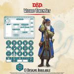 GaleForce Nine D&D Wizard Token Set