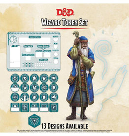 GaleForce Nine D&D Wizard Token Set