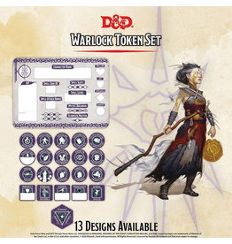 GaleForce Nine D&D Warlock Token Set