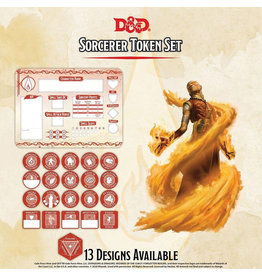 GaleForce Nine D&D Sorcerer Token Set