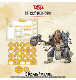 GaleForce Nine D&D Cleric Token Set