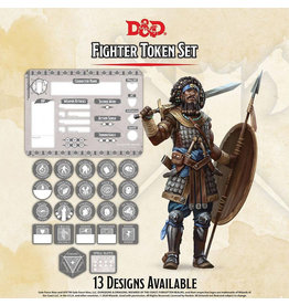 GaleForce Nine D&D Fighter Token Set
