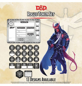GaleForce Nine D&D Rogue Token Set