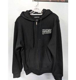 Recess Black Recess Games Zipper Hoodie XXXL