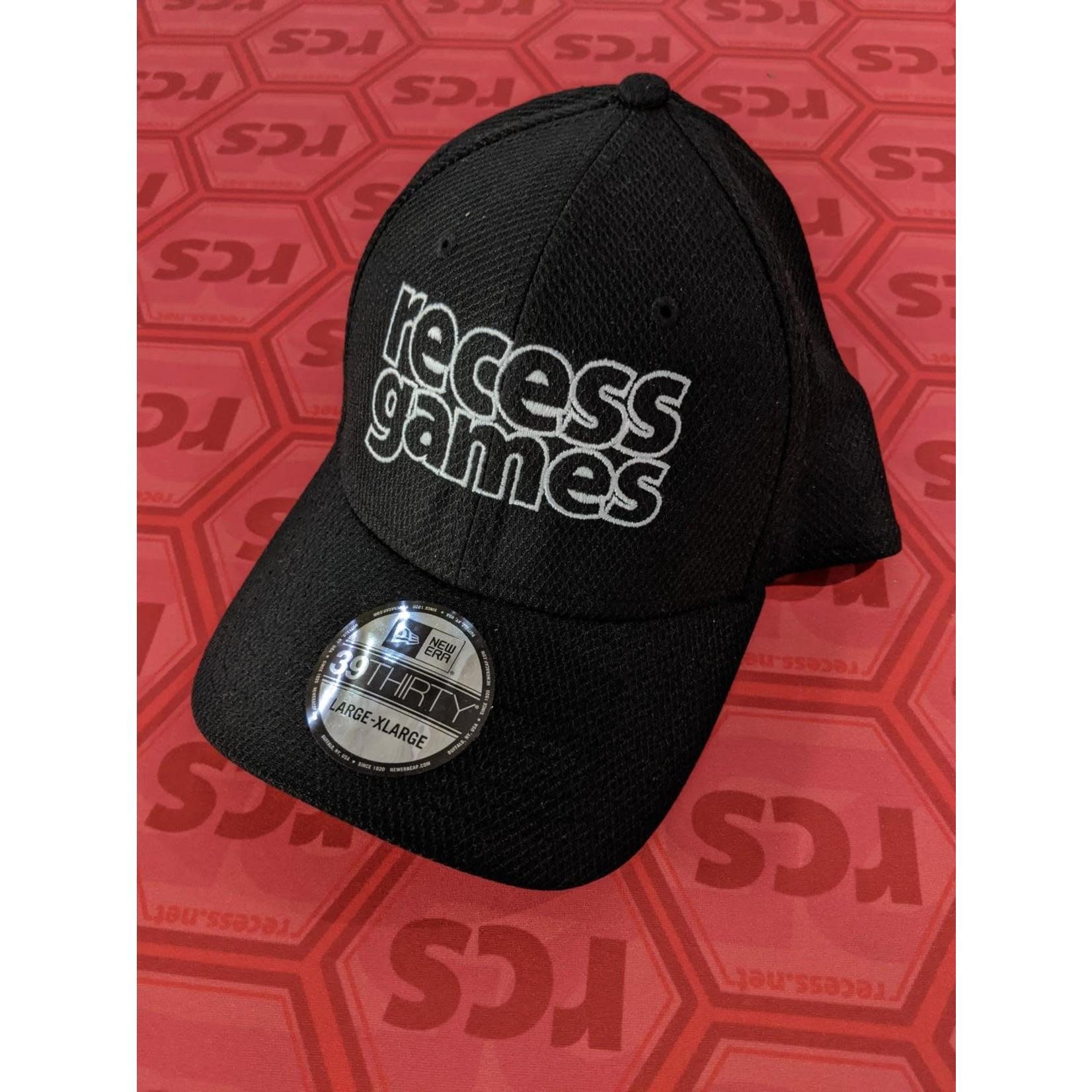 Recess Recess Games Logo Hat Black