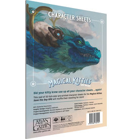 Atlas Games Magical Kitties Save the Day RPG Character Sheets