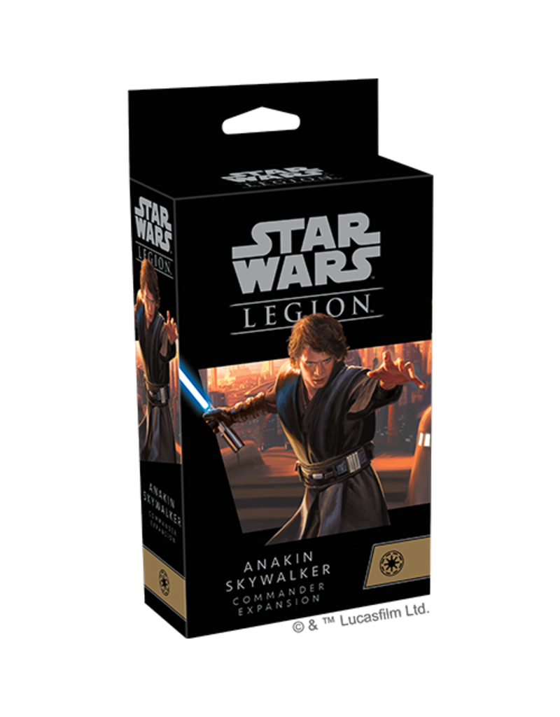Fantasy Flight Games Star Wars Legion Anakin Skywalker Commander Expansion