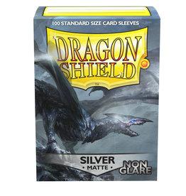Arcane Tinmen Dragon Shield: Silver Matte Non-Glare (100)