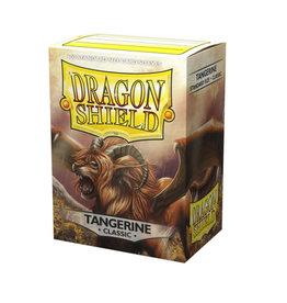 Arcane Tinmen Dragon Shields: (100) Classic Tangerine