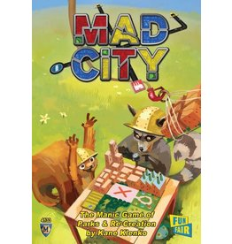 Mayfair Games Mad City Plan as Fast as You Can DEMO