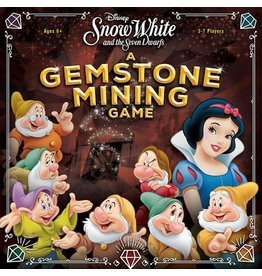 USAopoly Snow White and the Dwarves: A Gemstone Mining Game DEMO
