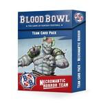 Games Workshop Necromantic Horror BB Team Cards