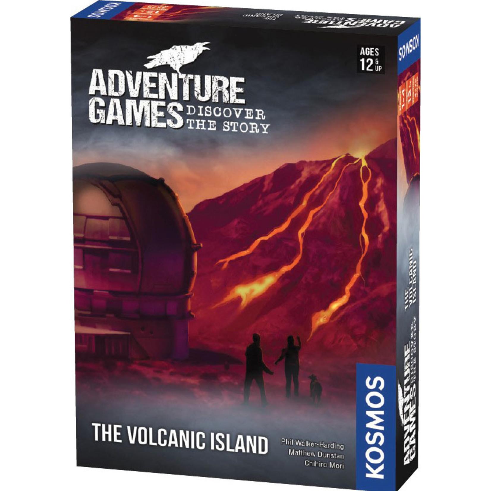 Thames & Kosmos Adventure Games: Volcanic Island