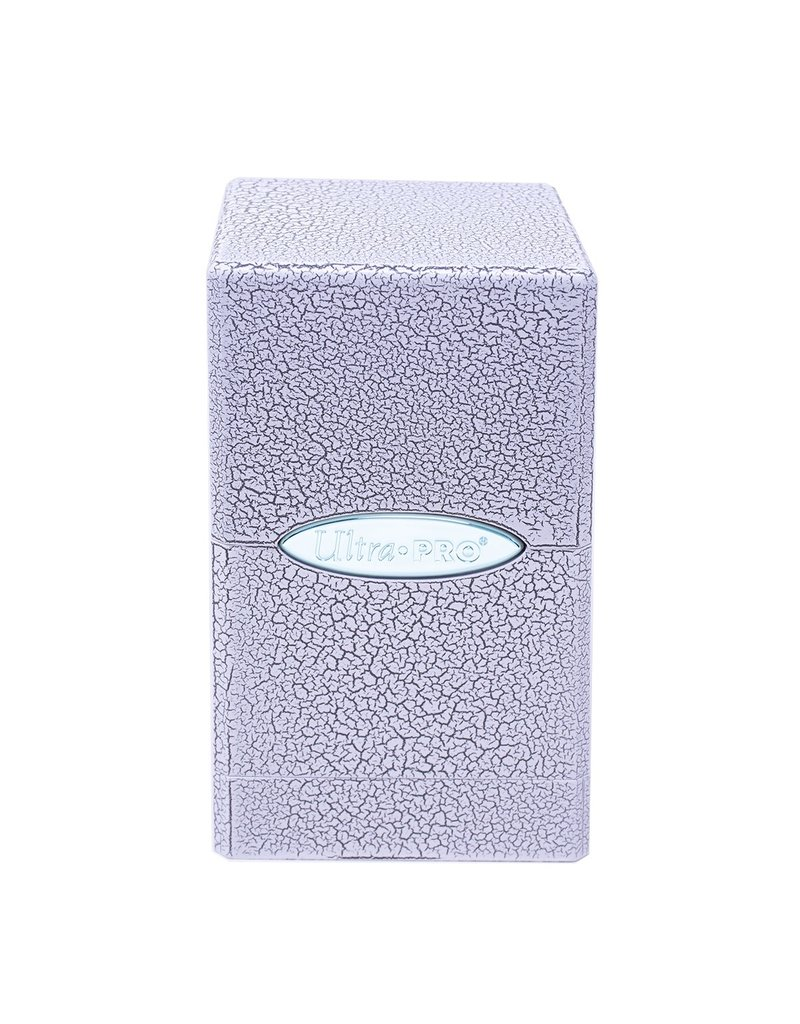 Ultra Pro Satin Tower Deck Box Ivory Crackle