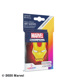 GAMEGEN!C MC Iron Man Art Sleeves (50) 66 x 91mm