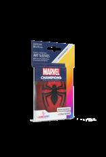 GAMEGEN!C Marvel Champions Spider-Man Art Sleeves (50) 66 x 91mm
