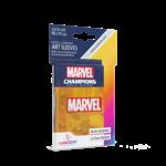 GAMEGEN!C MC Marvel Orange Art Sleeves (50) 66 x 91mm