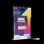 GAMEGEN!C MC Marvel Purple Art Sleeves (50) 66 x 91mm