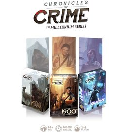 Lucky Duck Games Chronicles of Crime - The Millennium Series Collector KS