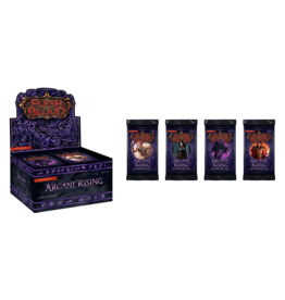 25th Century Games Flesh and Blood Arcane Rising Unlimited Booster Display
