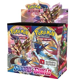 Pokemon USA Pokemon TCG Sword & Shield 1 Booster Display