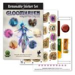 Cephalofair Games Forgotten Circles Gloomhaven Reuseable Sticker Set