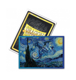 Arcane Tinmen Dragon Shield Starry Night Art Brushed