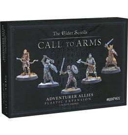 Modiphius Elder Scrolls Call to Arms Adventurer Allies