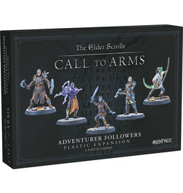 Modiphius Elder Scrolls Call to Arms Adventurer Followers