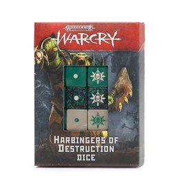 Games Workshop WarCry Harbingers of Destruction Dice