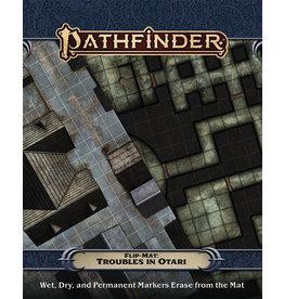 Paizo Pathfinder RPG Flip mat Troubles in Otari