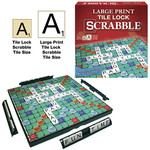 Winning Moves Games Large Print Tile Lock Scrabble