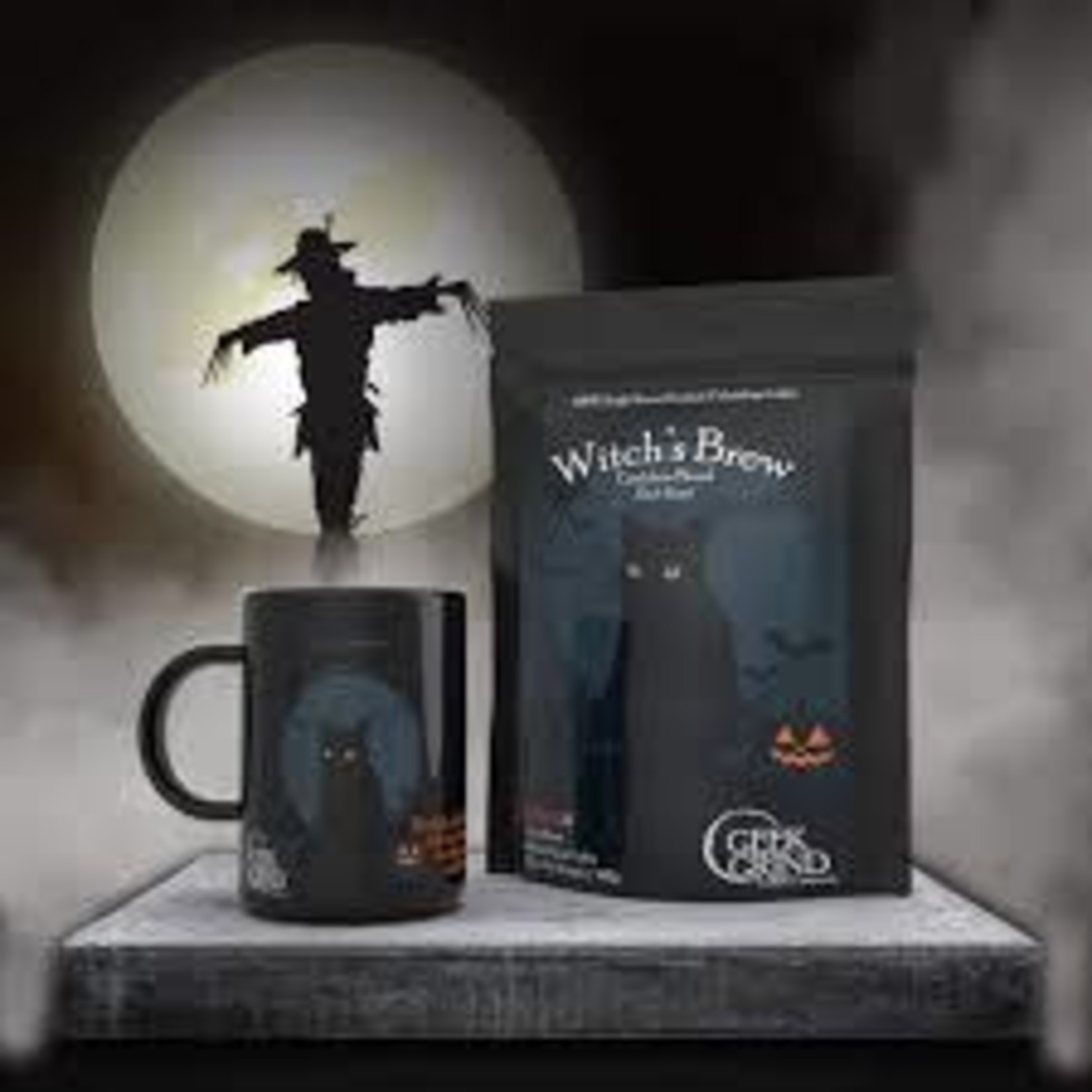 Geek Grind Witch's Brew & Cup Coffee Gift Crate