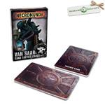 Games Workshop Necromunda Van Saar Tactics Cards