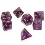 Chessex Vortex: Poly Purple/Gold (7)