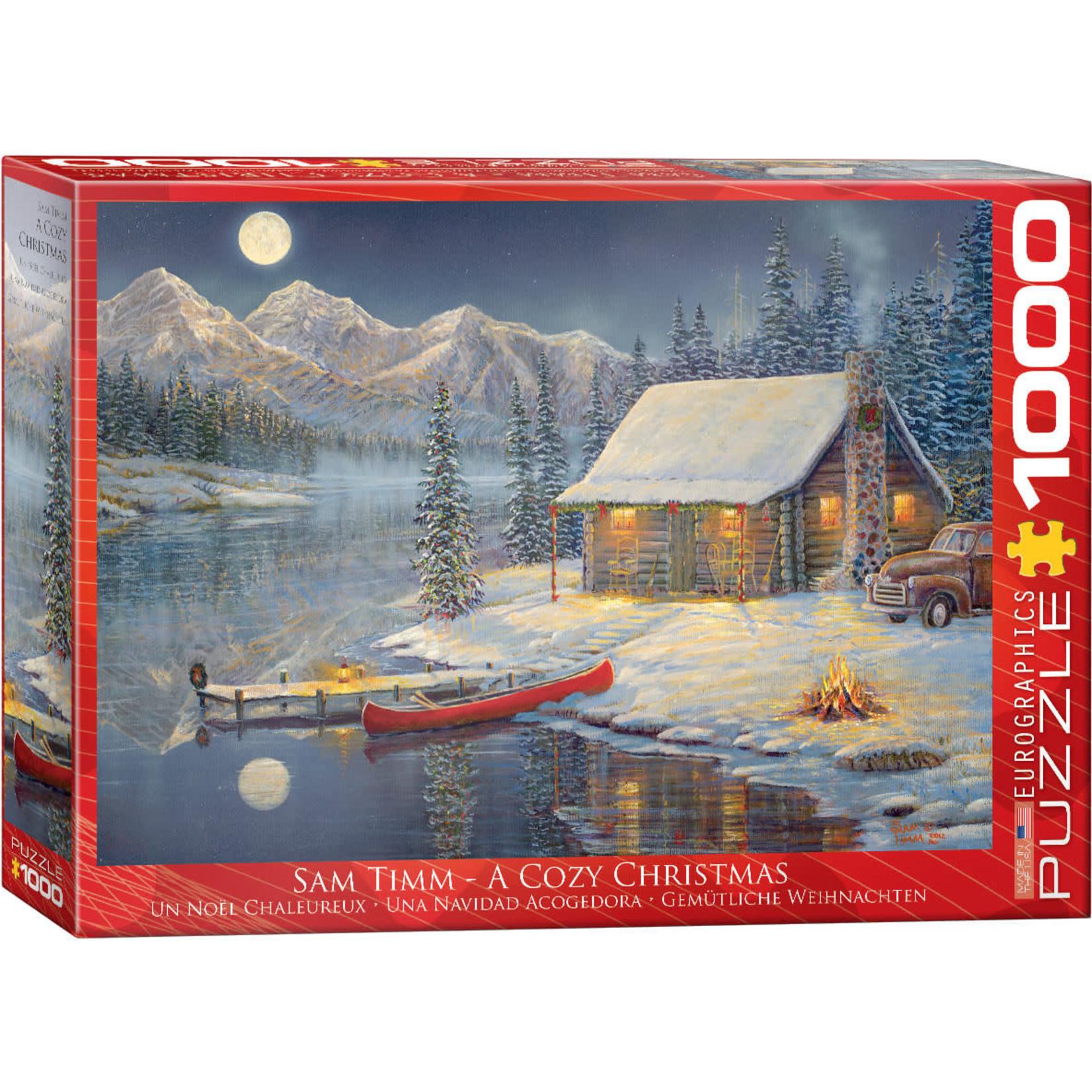 EuroGraphics A Cozy Christmas 1000pc