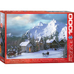 EuroGraphics Rocky Mountain Christmas 1000pc