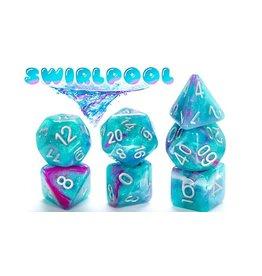 Gate Keeper Games Swirlpool Aether 7-Die Polyhedral Set